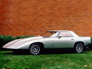 Chevrolet XP 898 Concept Car 1973 года